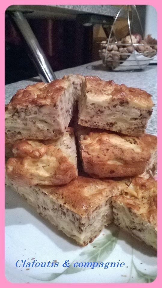 Gâteau Pommes &amp&#x3B; Noix