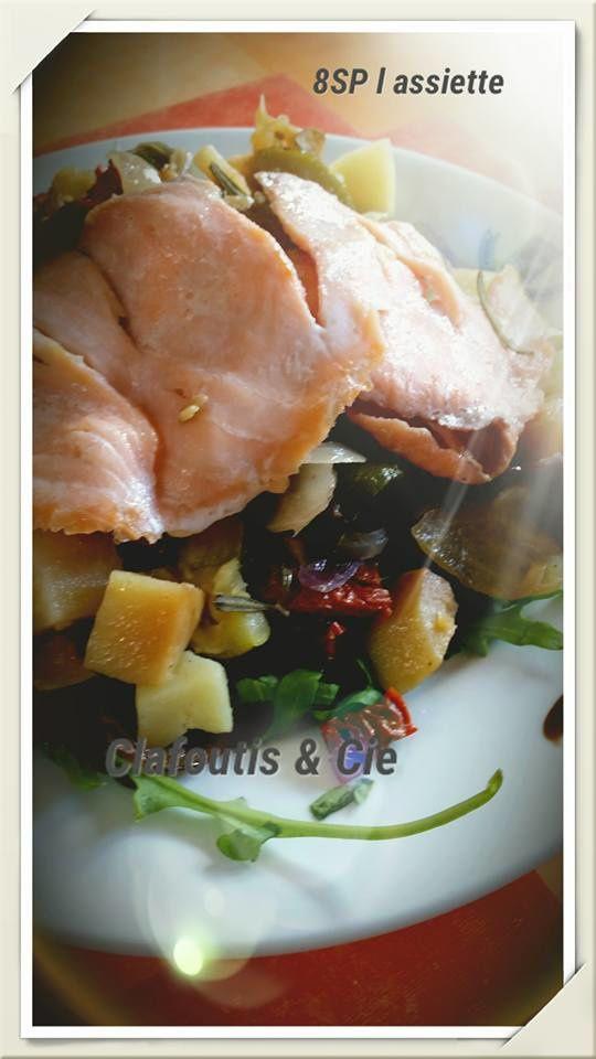 Saumon Fumé &amp&#x3B; ses Légumes Confits