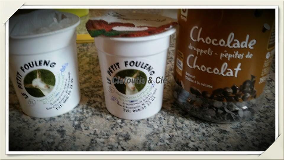Cake Pommes, Fraises &amp&#x3B; Pépites de Chocolat