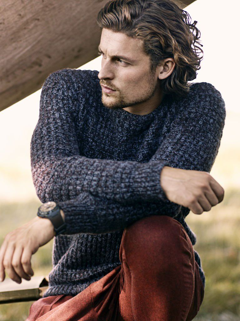 Wouter Peelen is photographed by Dean Isidro and styled by Christopher Campbell - Autumn/Winter 2013/14 :  Vogue