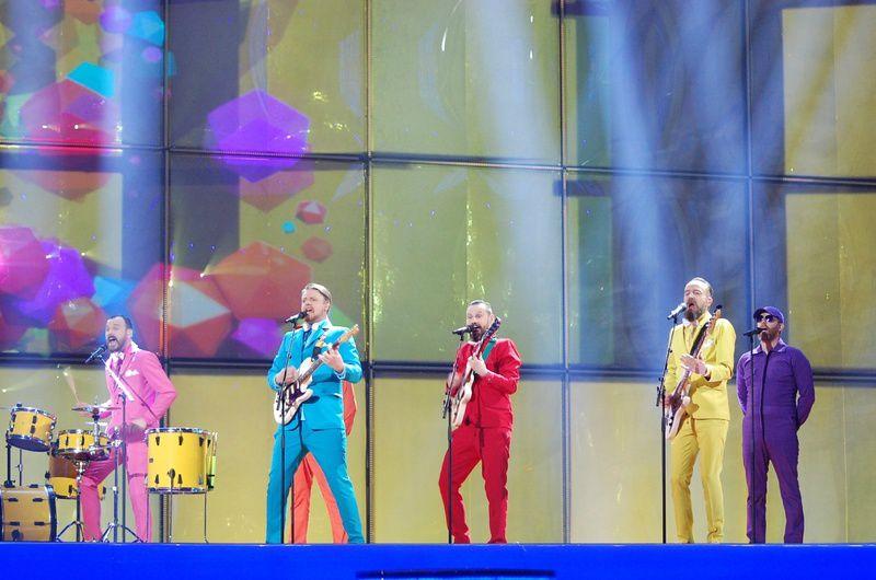Eurovision 2014 : Pollapönk - No Prejudice (Iceland) Impression of second rehearsal
