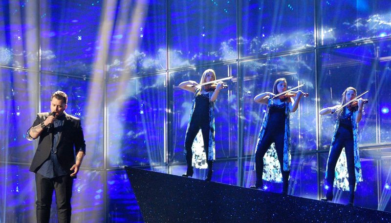 Eurovision 2014 : Carl Espen - Silent Storm (Norway) impressions of second rehearsal