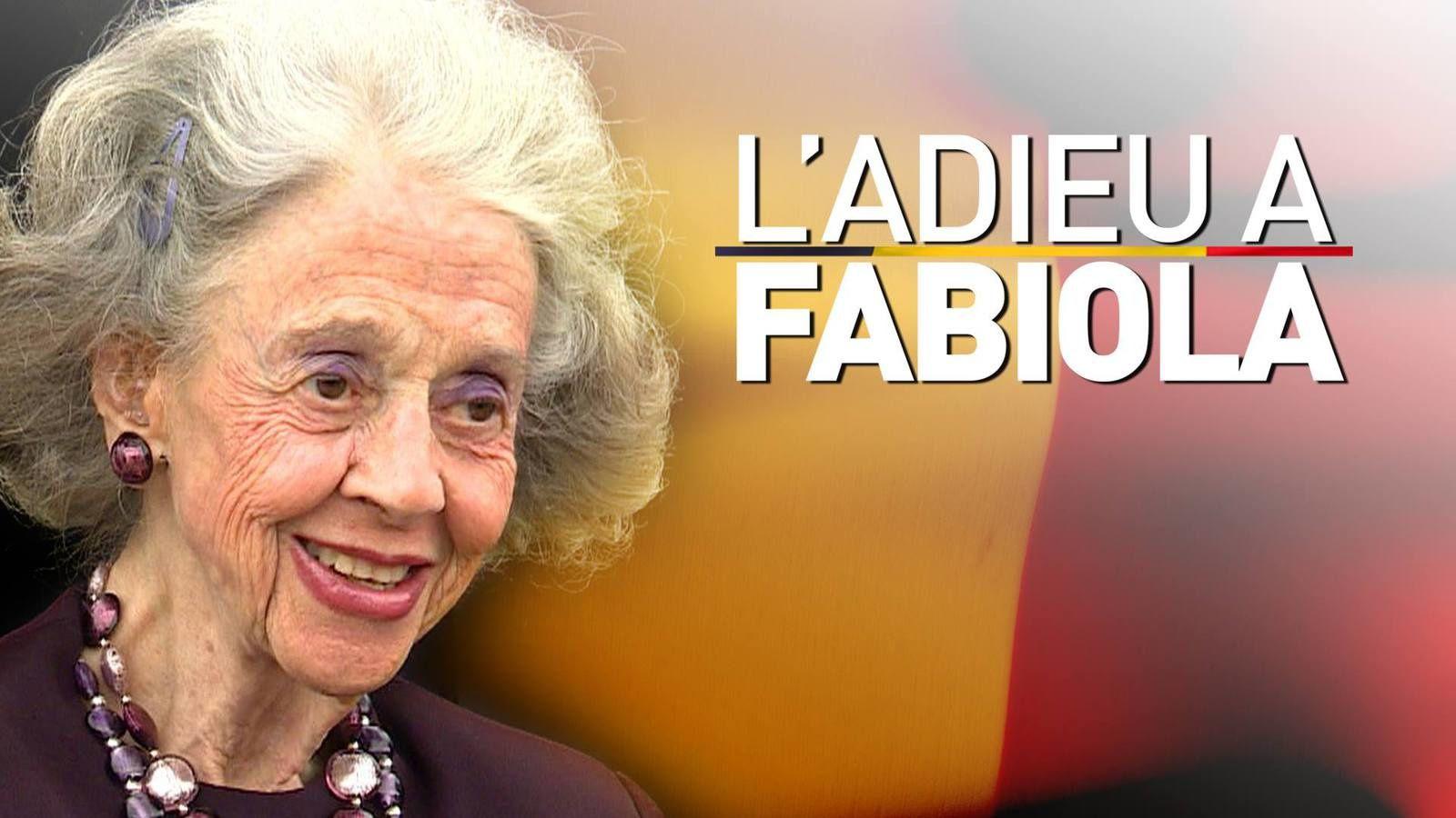 L'adieu à la Reine Fabiola ...
