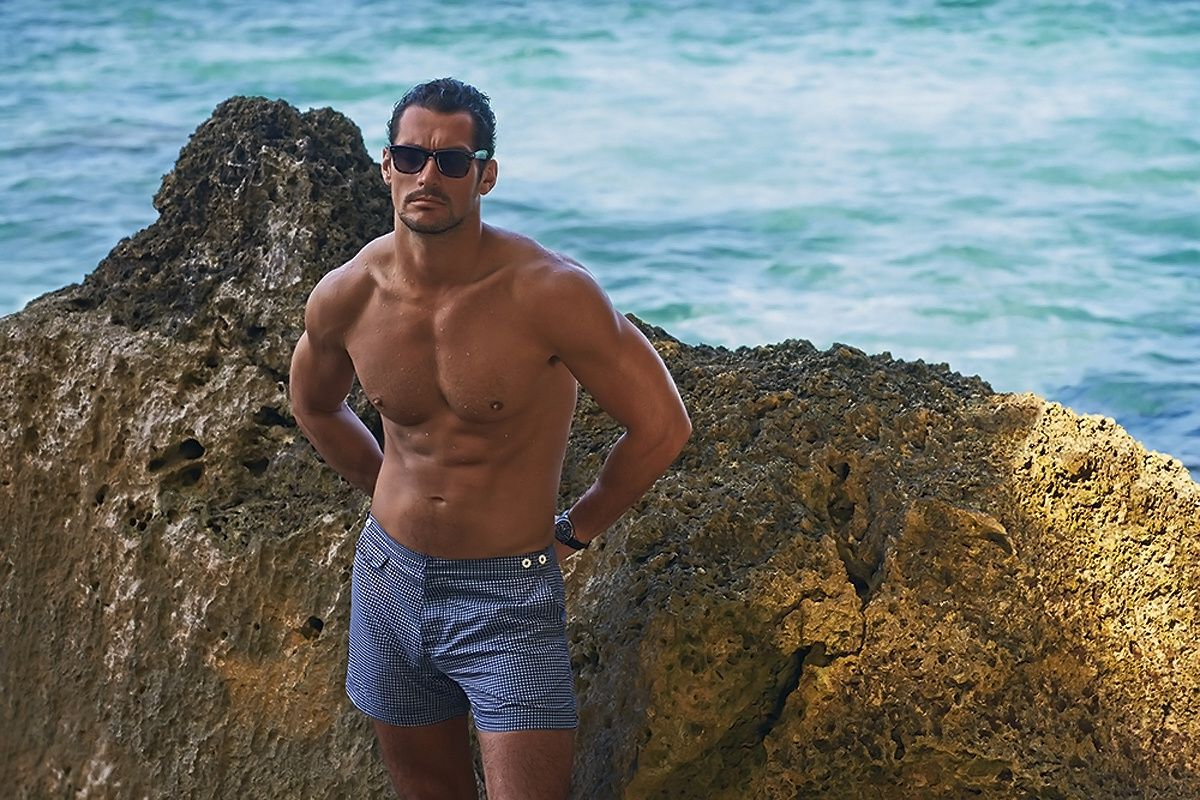 David Gandy for Autograph Swimwear...