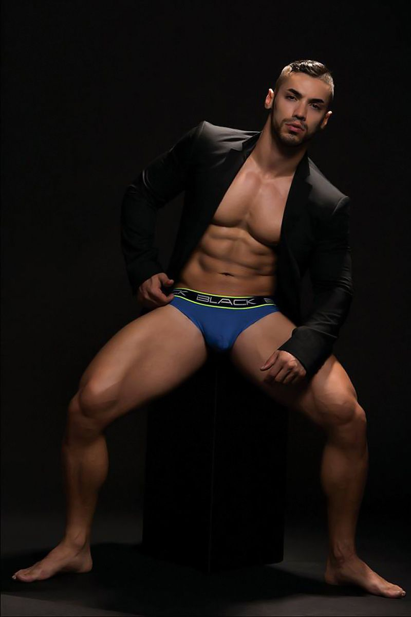 Andrew Christian : Black Collection