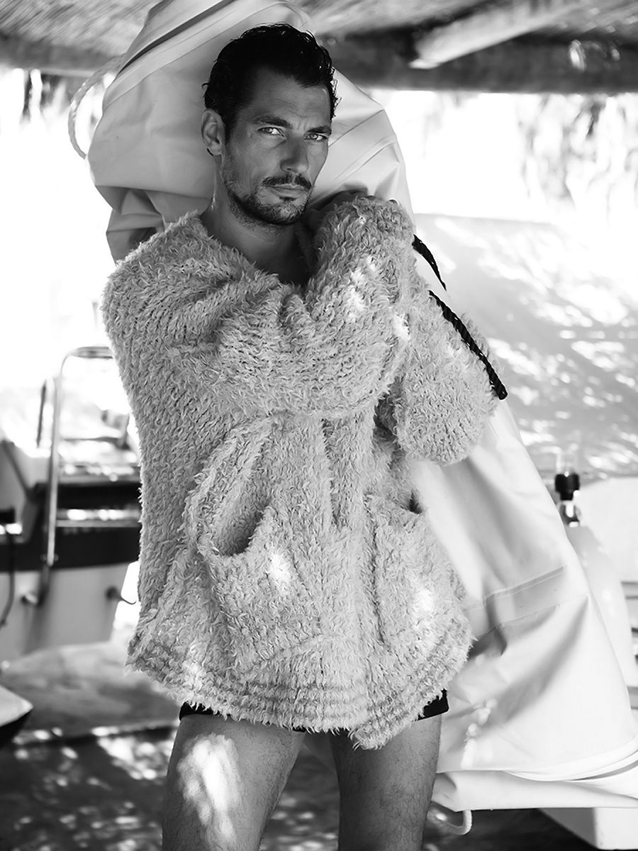 David Gandy par Lawrence Sparkes