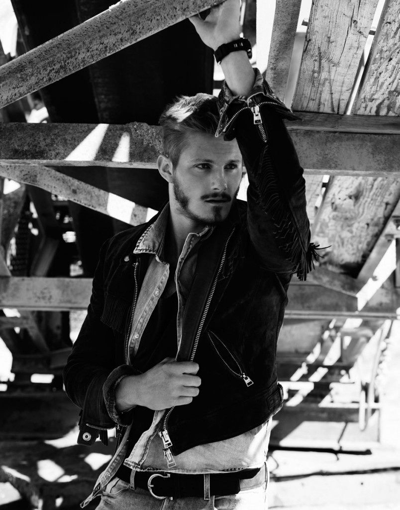 Alexander Ludwig is photographed by Justin Campbell