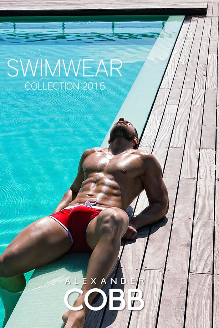 Alexander COBB : Swimwear 2016 Collection