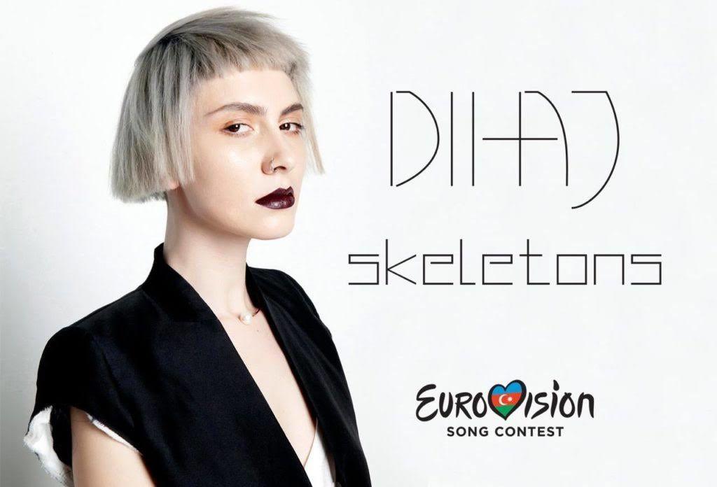 Eurovision 2017 : Azerbaïdjan  - Diana Hajiyeva &quot&#x3B;Skeletons&quot&#x3B;