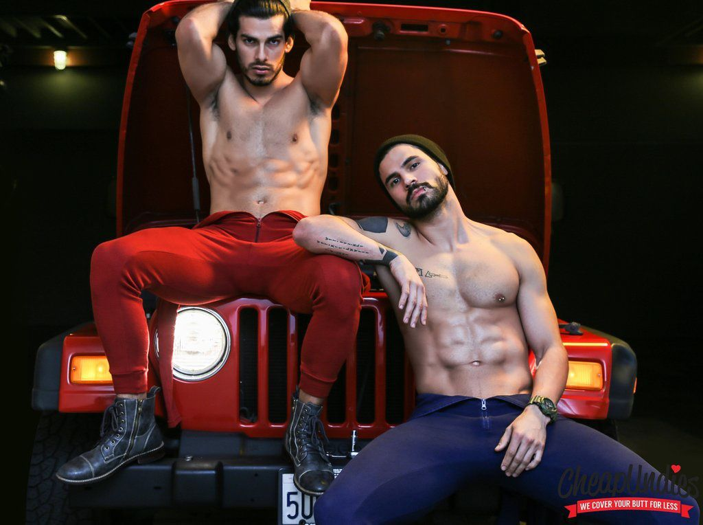 Giancarlo A. and Angel G. pour Cheap Undies