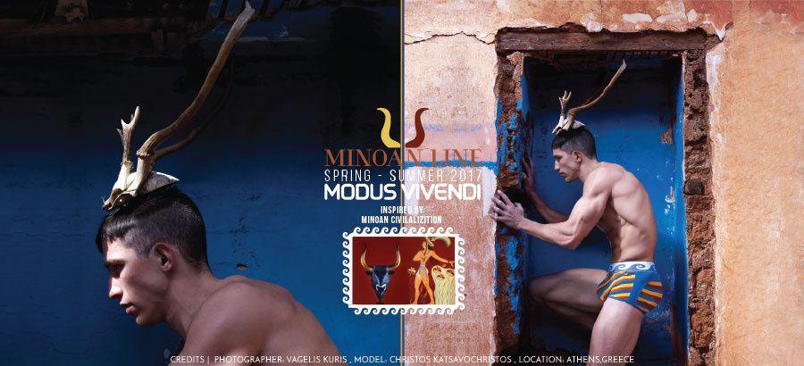 Modus Vivendi Minoan Line NEW MINOTAUR CAMPAIGN