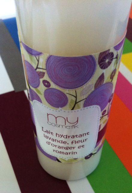 Lait hydratant lavande, fleur d'oranger et romarin - Test MyCosmetik