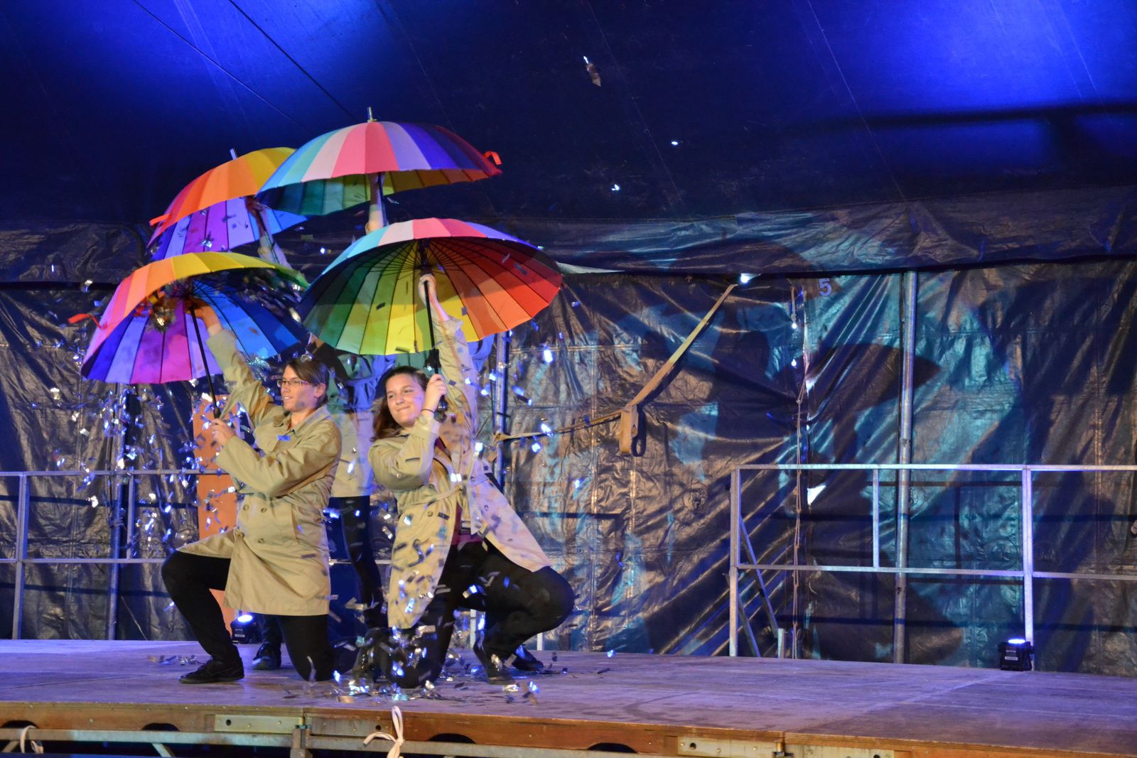 Dernière représentation du spectacle &quot&#x3B;4 Impers&quot&#x3B; à la fête de la patata à Vendenheim