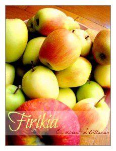 GOURMANDISE : Glyko firiki ou petites pommes confites au sucre