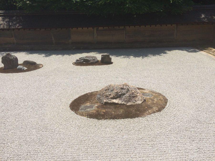 Le jardin zen du temple Ryoanji