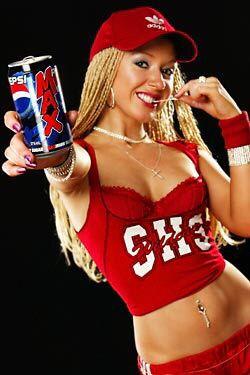 Pepsi-Cola sexy...