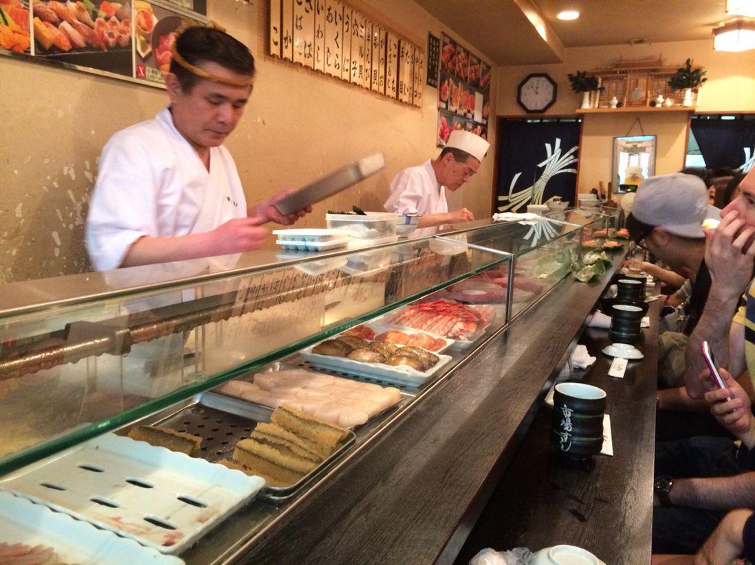 Le sushi...
