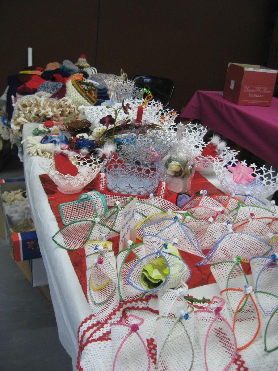 créations au crochet
