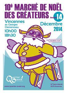 marché des créateurs à Paris - 2014