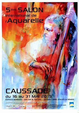 salon aquarelle à Caussade (82)