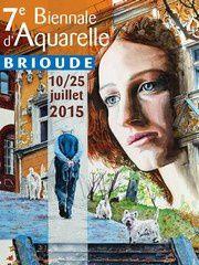 7ème biennale aquarelle Brioude