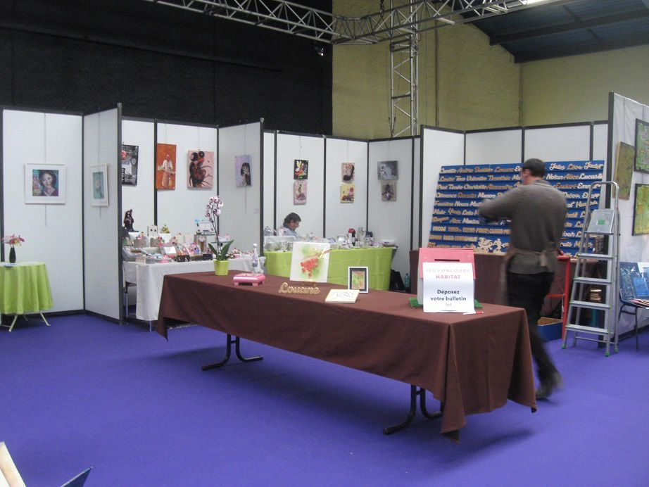 Salon habitat bergerac 24 aquarellement votre for Salon habitat