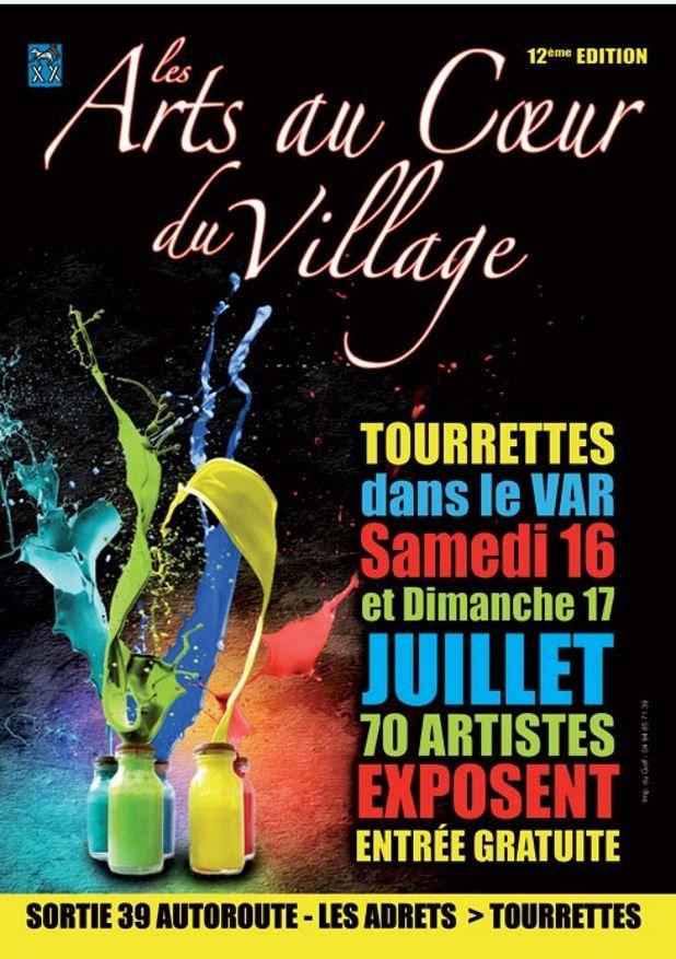 les arts au coeur du village - Tourettes (83)