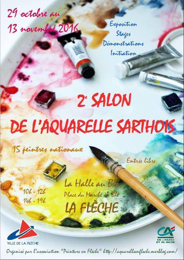 Second Salon de l'aquarelle Sarthois (72)
