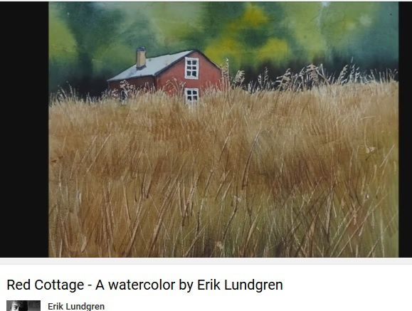 Red cottage - Erik Lundgren