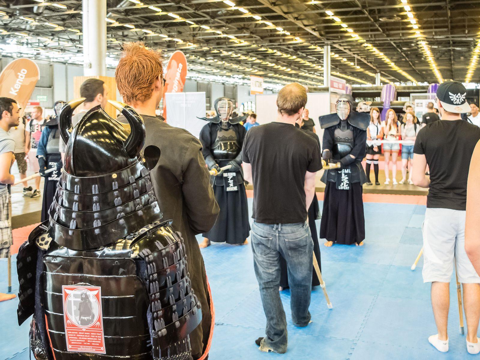 Arts martiaux, spectacles, arts culinaires...on est encore loin de brasser toute l'étendue de la culture nippone néanmoins force est de constater que les organisateurs se raclent la soupière pour proposer autres choses que les mangas & jeux vidéos (même si on va à Japan Expo pour ça en priorité)