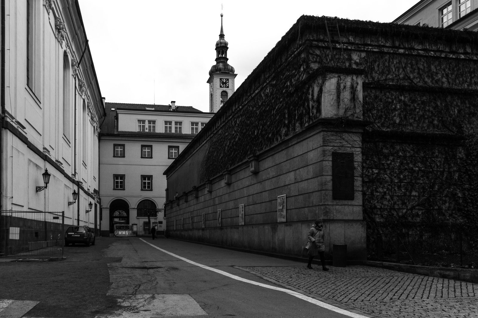 Street Photography : Prague en Noir &amp&#x3B; Blanc