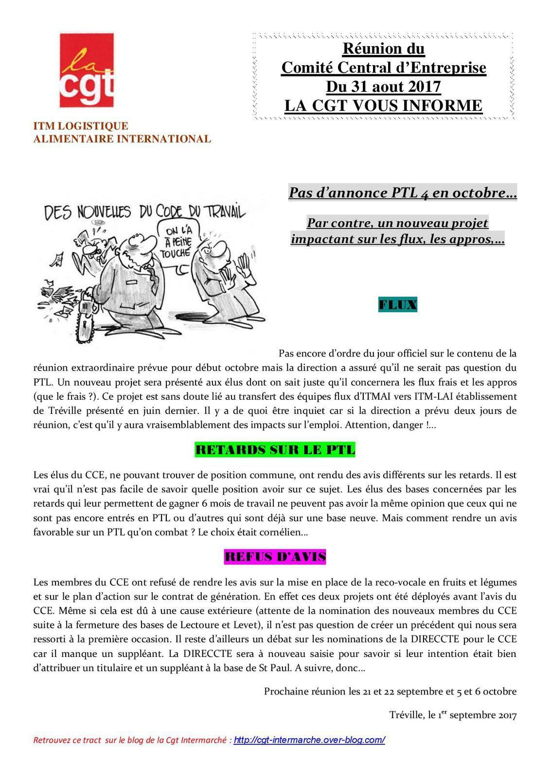 CGT CCE ITMLAI INTERMARCHE