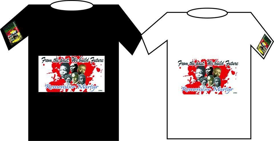 T-shirt officiel à commander : cpmccameroun@gmail.com