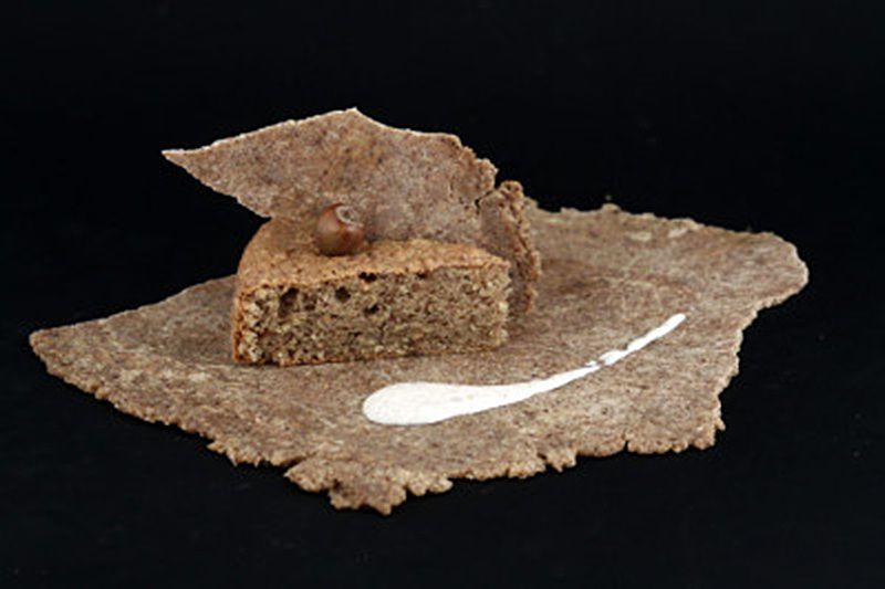 Biscuit très noisette et crème de mascarpone
