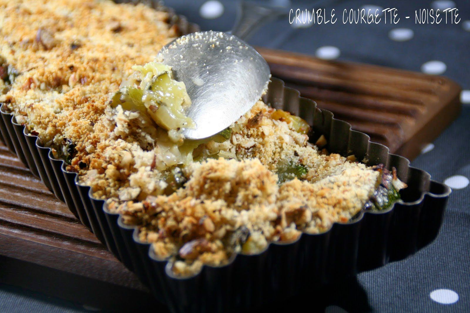 Crumble Courgette & Noisette