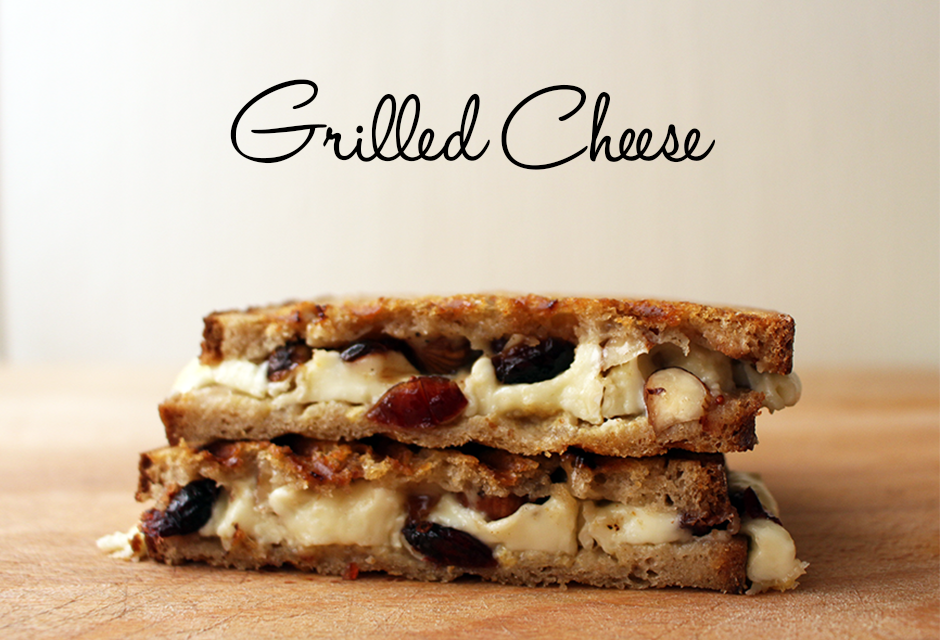 Le Grilled Cheese aux noisettes