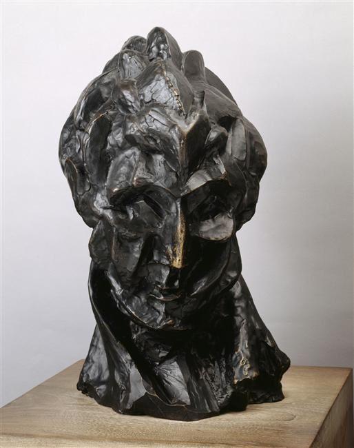 Tête de femme (Fernande) - Fernande Olivier, 1881-1966.