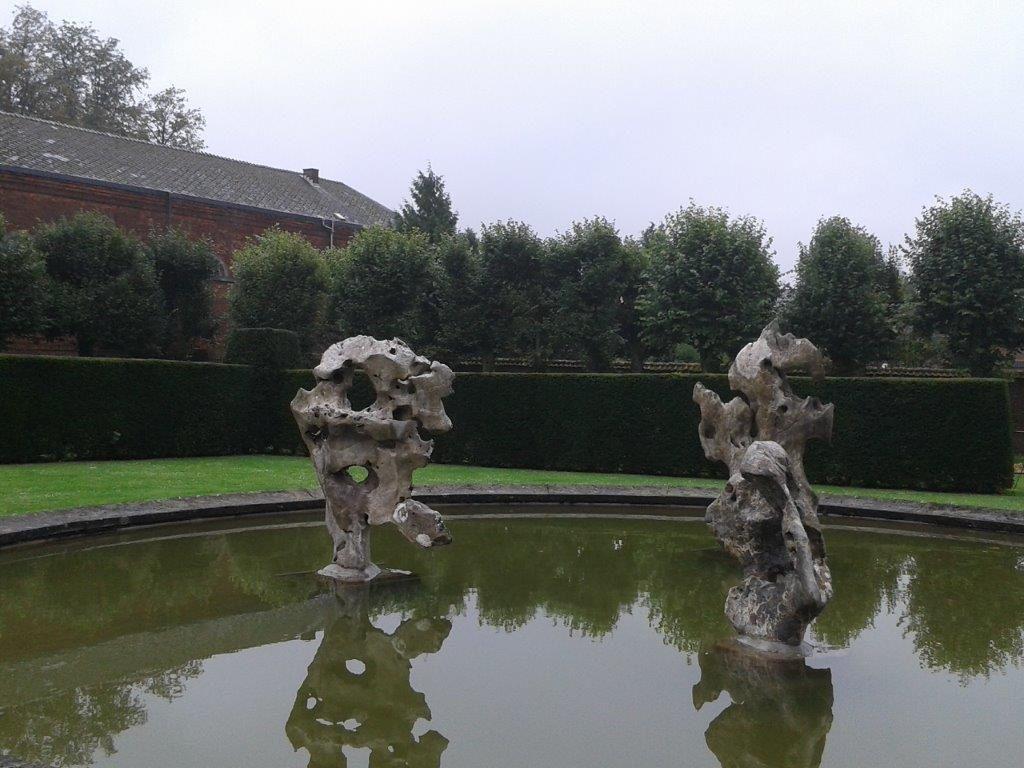 Rochers de jardins, Chine, fin des Ming (1368-1644), région de Jiangnan, basse vallée du Yangtsé. Pierres de Taiju - Collection privée.