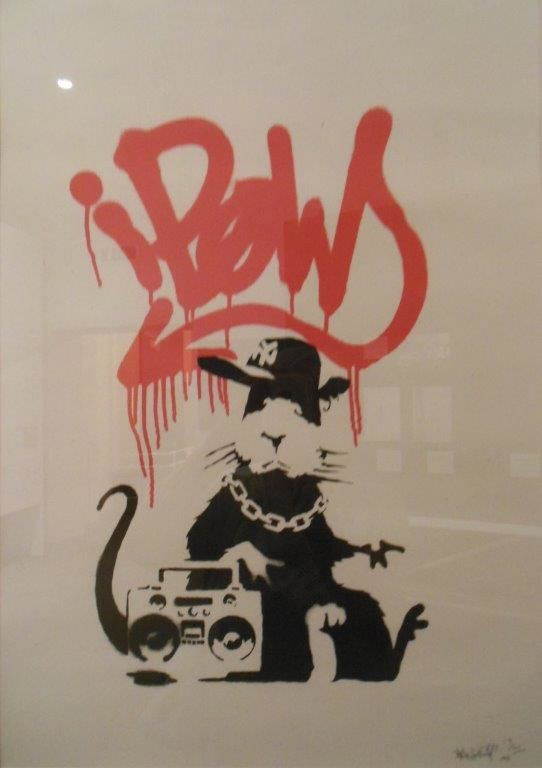 Gangsta Rat, 2004, 50X35, collection privée (photographié à Bologne)