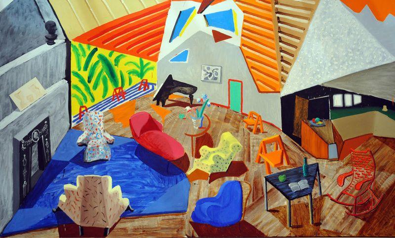 Large Interior, Los Angeles, 1988, 183,5 X 305,4. Metropolitan Museum, New York.