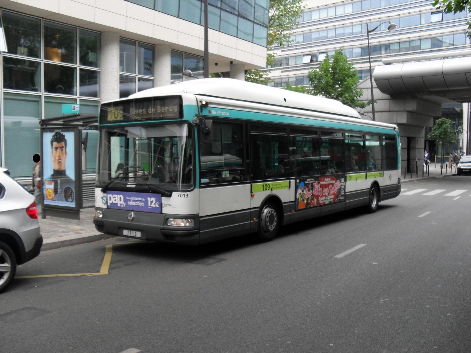 la ligne de bus ratp 109  la ligne la plus discr u00e8te du centre