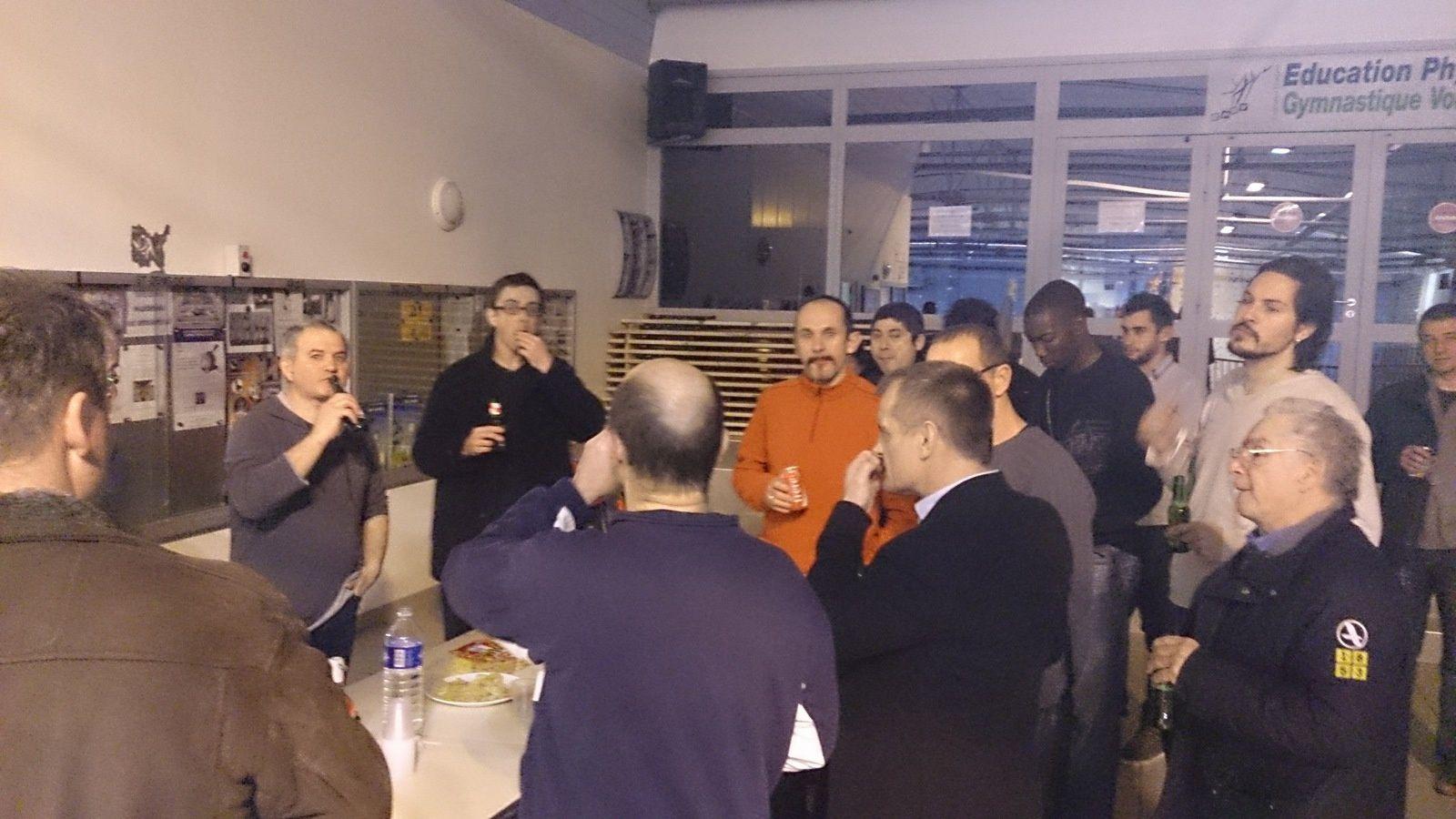 Merci à Philippe Montagnier pour son enseignement, merci aux participants des différents clubs d'avoir été présents !!!!!
