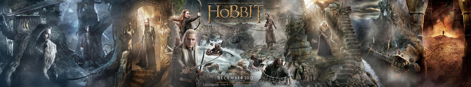 Le Hobbit, la désolation de Smaug en DVD/BluRay
