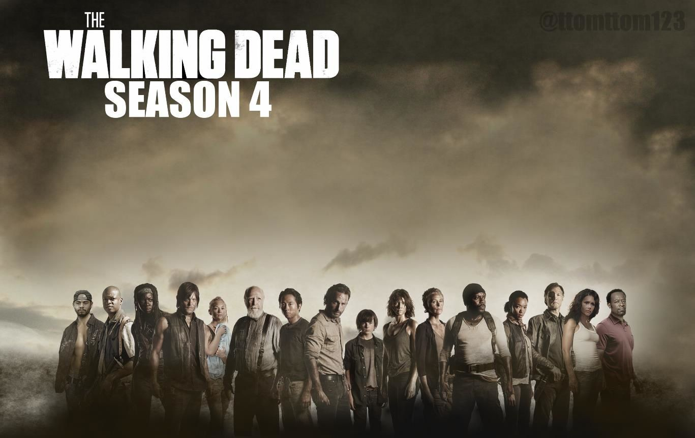 La saison 4 de &quot&#x3B;The Walking Dead&quot&#x3B; en vidéo