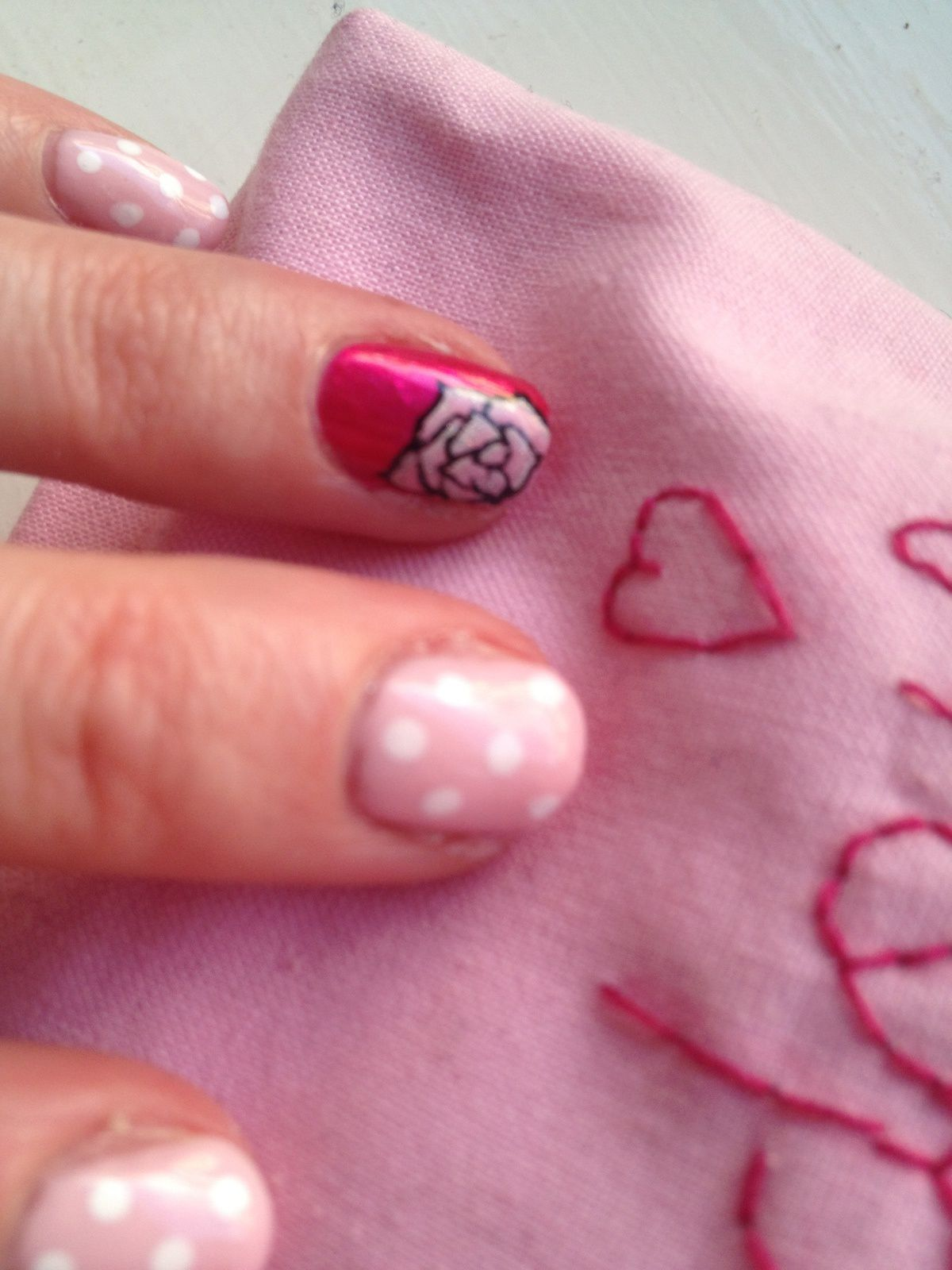 """Nail Art """"Le Boudoir De Sarah"""""""
