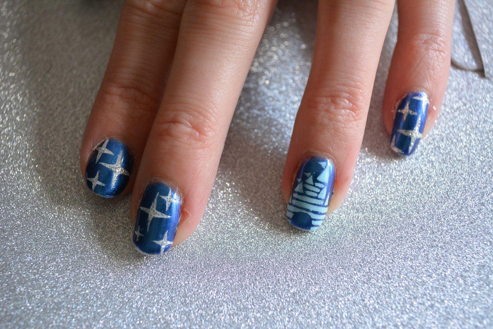 Nail Art - Cendrillon