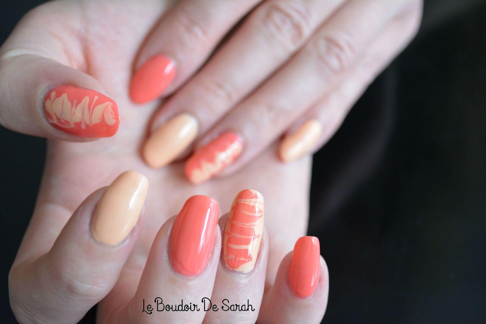 15 Jours/15 Nail Art - Jour 9: Technique du Millefeuilles