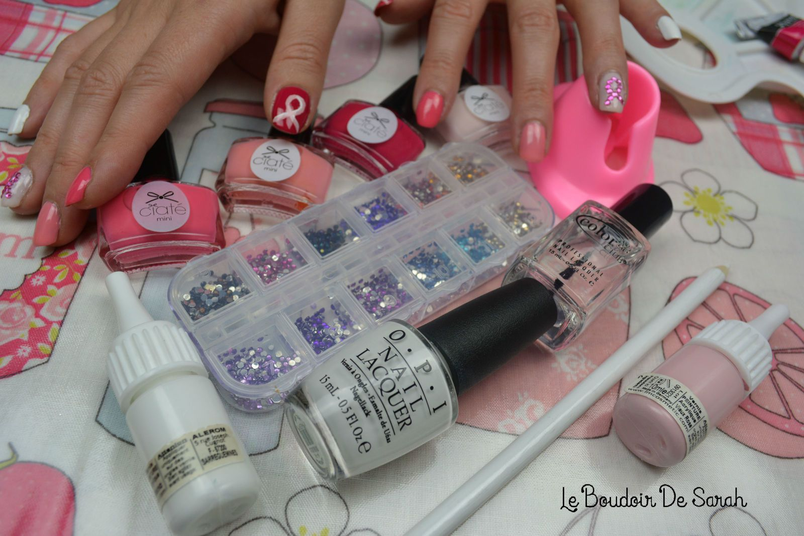 Nail Art - Octobre Rose