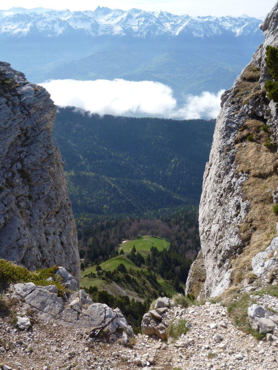 Vue sur Belledonne