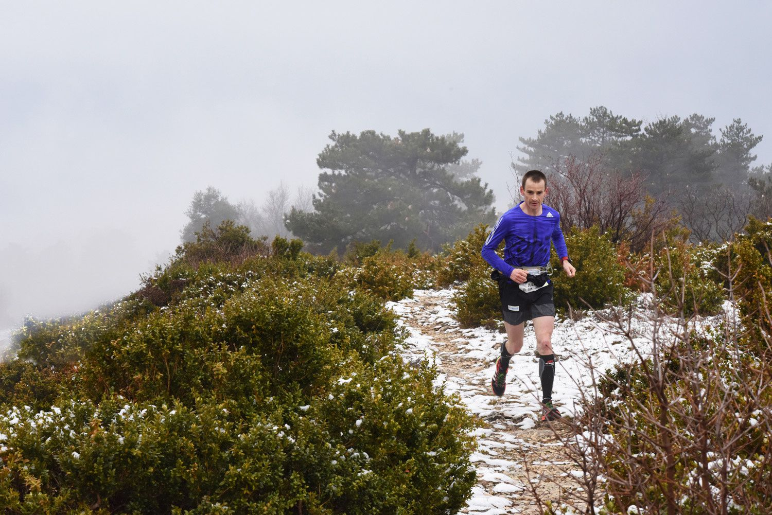 20 mars ouverture sur les pentes du Ventoux du Salomon Over the Mountain Running Challenge 2016